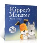 英国进口25周年版 小狗奇普和怪兽 Kipper's Monster 廖彩杏书单推荐第44周 第84本 儿童启蒙图画故