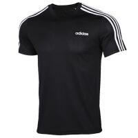 Adidas阿迪�_斯男�b�\�有蓍e透��A�I短袖上衣T恤FL0349