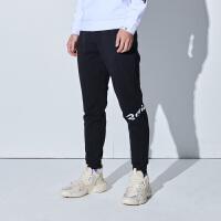 【超品预估价:78】361度男裤冬季新款针织长裤361收口小脚运动裤卫裤男装