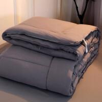 被子单人学生大豆纤维水洗全棉被芯春秋冬被加厚保暖冬天10斤