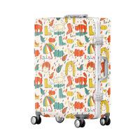 2018新款卡通pc拉杆箱abs万向轮旅行箱20寸登机箱行李箱