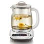 小熊(Bear) 养生壶 玻璃电水壶 多功能煮花茶壶煎药壶 1.8L 白色 YSH-B18P1