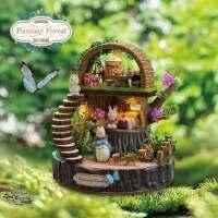 智趣屋diy小屋奇幻森林手工拼装模型创意送女友生日礼物新奇浪漫