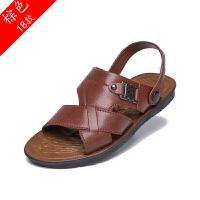 12夏季男士凉鞋两用休闲鞋透气沙滩鞋防滑夏天凉拖鞋