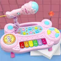 儿童电子琴宝宝音乐多功能钢琴玩具益智初学者