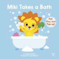 英文原版 米奇洗澡 立体操作书 亲子互动 儿童行为习惯培养 低幼启蒙纸板机关书 Miki Takes a Bath