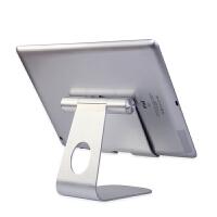 iPadair2平板电脑支架懒人手机桌面通用底座mini金属架子增高直播 平板电脑通用支架