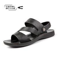 骆驼动感(camel active)夏季男士简约凉鞋沙滩鞋