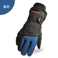 新款男士户外保暖加厚滑雪手套 防水防寒骑行保暖手套男户外手套