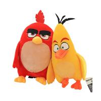 愤怒的小鸟2电影版毛绒公仔抓机娃娃儿童玩具礼品动漫周边