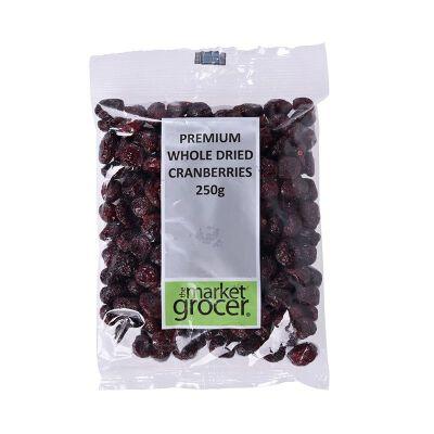 保税区直发 澳大利亚the market grocer蔓越莓干零食果脯 250g进口食品  保质期到18年8月-9月