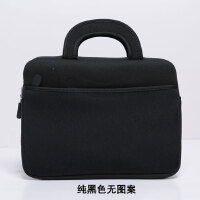 12.5寸/13.3寸小米笔记本air 4G电脑保护套手提内胆包袋子 纯黑色无图案 13寸