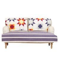【人气】北欧沙发垫夏天凉垫布艺坐垫四季通用沙发套罩巾现代简约棉麻ins