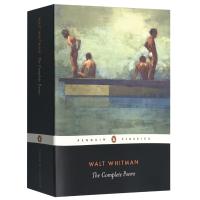 惠特曼诗集 英文原版 The Complete Poems 美国现代诗歌之父 草叶集作者Walt Whitman沃尔特惠