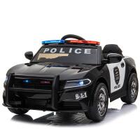 儿童电动车四轮带遥控汽车可坐小孩摇摆童车宝宝玩具车可坐人警车
