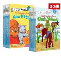 【全店满300减80】26册 Berenstain Bears 贝贝熊系列 I Can Read L1 一阶段 儿童英文原版绘本分级读物 汪培廷书单推荐