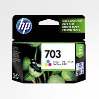 原装惠普/HP HP703 彩色墨盒 适用于 HP Deskjet D730/F735/K109A/K209A/K51
