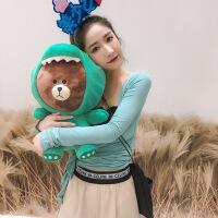 【好����x】�t�i 暖手袋可充��崴�袋式兔毛�������暖��萌萌�鄯辣�毛�q�n版暖水袋暖手�� 小熊熊