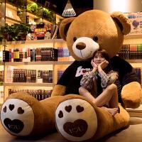 泰迪熊猫布娃娃女生抱抱熊公仔特大号狗熊玩偶毛绒玩具熊大熊