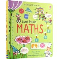 Usborne Look Inside Maths 看里面低幼版 数学启蒙翻翻书 3-6岁 幼儿科普 英语学习 纸板书
