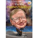 英文原版 谁是霍金? 中小学读物 Who Was Stephen Hawking?