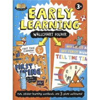 Help With Homework Early Learning Wallchart Folder 益智贴纸活动书 英