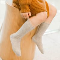 儿童堆堆袜秋冬童袜纯棉 婴儿宝宝中筒袜