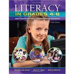 【预订】Literacy in Grades 4-8 9781934432839