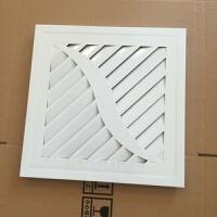 吊顶通风口扣板换气孔风口面板面罩嵌入式通风面板排气扇300×300铝集成 300*300