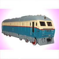 儿童合金汽车模型玩具回力车火车头模型合金仿真蒸汽内燃机车绿皮