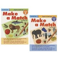 Kumon Make a Match Level 1 Level 2 公文式教育 幼儿找找乐教辅练习册 1阶 2阶 4