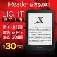 【全国包邮+送30元购书�弧空圃�iReader Light(悦享版)电子墨水屏6英寸轻薄内置8G电纸书电子书阅读器
