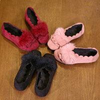 童鞋女童单鞋秋冬软底豆豆鞋2017新款宝宝公主鞋演出鞋学生舞蹈鞋