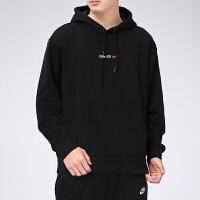 幸运叶子 Nike耐克卫衣男春季新款连帽运动服套头衫长袖卫衣DD2094-010