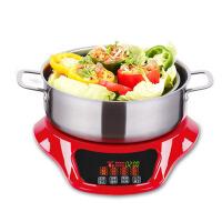 电蒸锅多功能蒸汽烹饪锅电火锅焖锅炖锅家用蒸锅电火锅
