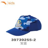 安踏小童休闲帽子宝宝棒球帽男2018春夏季新款遮阳帽太阳帽39739255