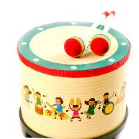 宝宝韩国原单地鼓儿童玩具打击鼓节奏音乐乐器 奥尔夫乐器早教.