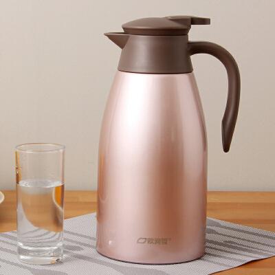 不锈钢大容量真空保温壶家用2升保温瓶热水瓶暖水壶暖壶