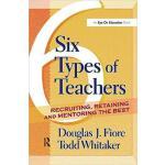 【预订】6 Types of Teachers 9781138453968