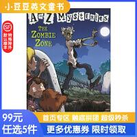进口英文原版The Zombie Zone A to Z 神秘案件 #26 僵尸出没的地方6-12岁