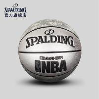 斯伯丁篮球官方正品真皮牛皮手感耐磨室外水泥地nba比赛专用7号球