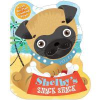 英文原版 弗兰克的零食屋 纸板书 Shelby's Snack Shack