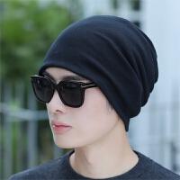 帽子男士冬天两用包头帽头巾围脖围巾套头帽冬季潮户外保暖护耳帽