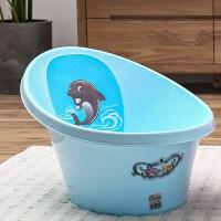 新生儿洗澡盆婴儿小号迷你洗澡浴桶可坐躺宝宝防滑非折叠便携浴盆