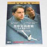 正版高清电影 肖申克的救赎(刺激1995)2DVD光盘碟片 国语/英语