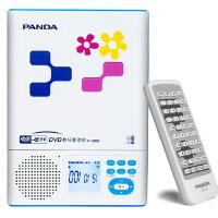 熊猫(PANDA) F-385携式CD随身听VCD机英语复读机DVD机插卡U盘播放
