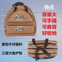 鱼护包双层三层防水渔护包渔具包鱼杆手竿包垂钓包钓鱼包