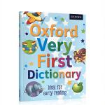 英文原版 牛津儿童启蒙字典图画图解词典 Oxford Very First Dictionary 英英字词典 4-5岁