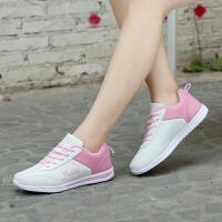 跑步鞋女鞋夏季新款运动鞋女时尚百搭慢跑鞋韩版休闲旅游鞋增高鞋板鞋
