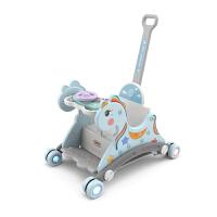 儿童摇马餐椅婴儿小木马摇椅一周岁宝宝生日礼物滑行多功能摇摇马